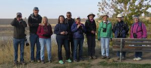Tuesday Bird Walkers at Bennington Lake