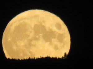 Full Moon at Bennington